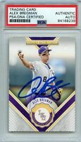 Alex Bregman Signed 2015 Elite Extra Edition Card PSA/DNA Slabbed Autographed AU
