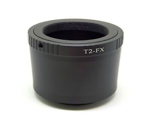 T2 T to Fujifilm X XF Mount Lens Mount Adapter X-Pro2 XT1 XA1 XT10 XT3 T2-FX