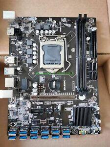 BTC B250C OEM 12 PCI-E GPU Expert Mining Motherboard PCIE, Rebtech USB Port Type