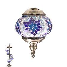 TURKISH MOSAIC LAMP Glass Table Lamp LIGHT Swan 5pcs ball Mosaic GIFT
