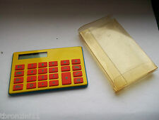 PICCOLA CALCOLATRICE TASCABILE ANNI 80/90 -  CALCULATOR POCKET - VINTAGE