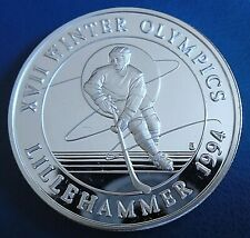 More details for turks & caicos: 1993 20 crowns winter olympics d 1 troy oz silver proof cap cert