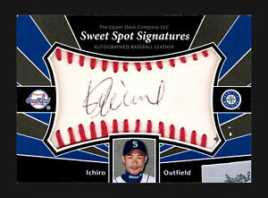 Ichiro Suzuki 2004 Upper Deck Sweet Spot Signatures Card Auto Card 182656