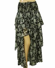 147431 New Denim & Supply Ralph Lauren Rock-And-Roll Asymmetrical Maxi Skirt L