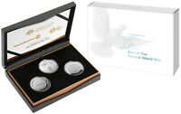 2020 Three-Coin Silver Proof Set 75th Anniversary of the End of WWII *IN STOCK*
