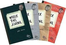 NEW Wreck This Journal (4 Volume Set) by Keri Smith