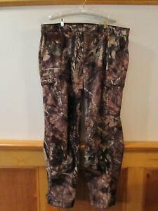 Mens LL BEAN Ridge Runner Soft Shell Mossy Oak Break Up Country Camo Pants 45x33
