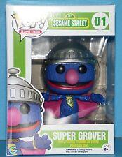 FUNKO MIB # 01 SESAME STREET SUPER GROVER Pop! Vinyl Figure AWESOME