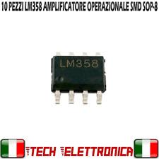 10 pezzi LM358 SMD integrato IC amplificatore operazionale LM358DR SOP8 LM 358