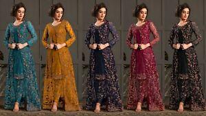 Designer Indian Pakistani Salwar Kameez Ethnic Anarkali Shalwar Suit Party Dress