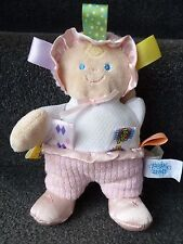 MARY MEYER BABY TAGGIES DOLL DOLLY COMFORTER HUG SOFT TOY  *