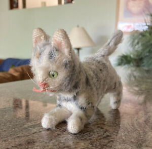 Vintage Steiff Mini Tabby Cat