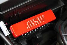 2010-2014 Chevrolet Camaro Heat Sink Cover SS Logo Orange