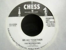 """The Moonglows - WE GO TOGETHER - PLEASE SEND ME - Promo Vinyl 7"""" Single  [1984]"""