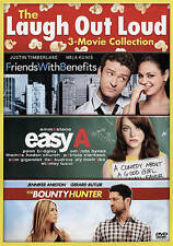 The Bounty Hunter/Easy A/Friends With Benefits (DVD, 2015, 2-Disc Set) NEW