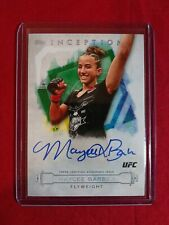 2020 Topps UFC Knockout Maycee Barber Autograph Inception Auto #/99