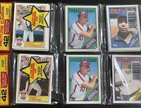 Topps 42 Cards Rack Packs. 3 Total