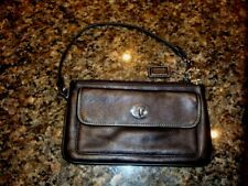 AUTHENTIC COACH LEGACY TURNLOCK WRISTLET BAG