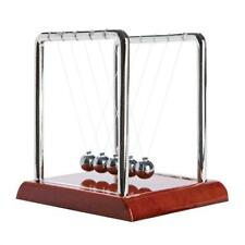 GIFTWORKS NEWTON'S CRADLE Newtons Steel Balls Science Physics Pendulum