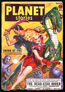 PLANET STORIES Winter 1949:Frederic Pohl,Jerome Bixby,Robert Abernathy
