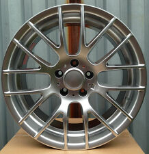 "18"" CSL Style HYPER SILVER Wheels Rims FITS BMW 5 Series 528I 535I AWD ONLY E60"