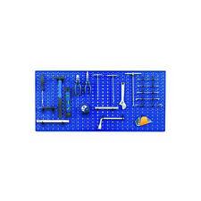 Pannello pannelli forato cm 50x98 bleu per officine meccaniche e fai da te