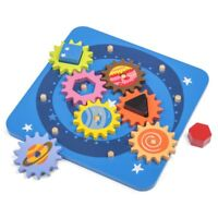 Space Cog Puzzle - Wooden Kids Classic Planet Toys Gifts Games Gadgets Motor