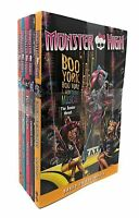 Monster High Junior Novel Collection 5 Books Set By Perdita Finn NEW