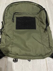 Special operations equipment SOE daypack W/extras Old School OD & BLACK