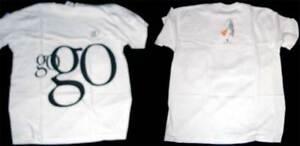 "orig. Apple ibook ""go go go"" T-Shirt zum Start des iBook G3 Clamshell, 1999"