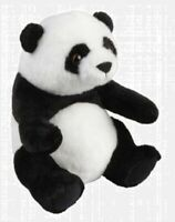 RAVENSDEN PLUSH PANDA SITTING 18CM - FR002PA TEDDY SOFT CUDDLY SNUGGLE BEAR CUTE