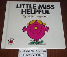 LITTLE MISS BOOK - LITTLE MISS HELPFUL VOL 8 - HARD COVER (BRAND NEW)