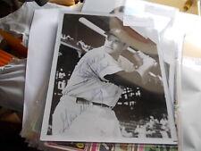Gene Woodling NY Yankees  Signed/Auto  8 x 10.