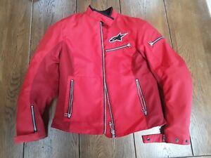 Alpinestars waterproof motorcycle jacket small