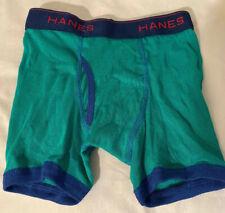 Hanes Boys Boxer Briefs Size S ComfortFlex NWOT Tagless Cotton