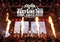 New SPYAIR JUST LIKE THIS 2015 Regular Edition DVD Japan AIBL-9331 4547403042115