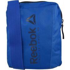 Reebok Portable Shoulder Bag Blue Adjustable Strap Original Se City Messenger