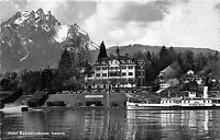 BG29847 hotel kastanienbaum luzern ship bateaux   switzerland   CPSM 14x9cm