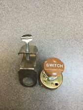 RAT ROD OLD VINTAGE DASH LIGHT SWITCH SCTA ROADSTER LAMP INSTRUMENT HOT LINCOLN