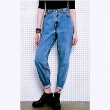 Vintage Levi's 551 High Waist Relaxed Fit Mom Tapered Retro Jeans 16