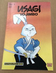 Usagi yojimbo 1 first printing 1987 fantagraphics