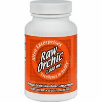 Ultra Glandulars Raw Orchic Tablets, 1000 Mg, 60 Count