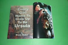 EVERY GIRL WANTS TO GROW UP TO BE URSULA ANDRESS BY BRUCE WEBER