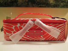 NWT AUTHENTIC KATE SPADE FINGERS NYLON SLIM NATALIE MAKE UP CASE BAG