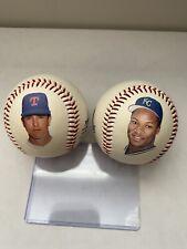 Nolan Ryan and Bo Jackson 1990 Fotoballs MLB Baseball