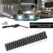 20X 12V Deck Low Voltage LED Landscape Outdoor Garden Pathway Strip Lights    3