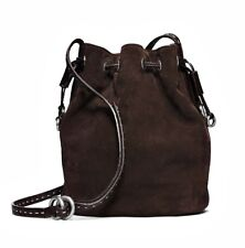 Michael Kors Collection Tasche/Bag Julie SM Suede CHOCOLATE NEU!229€ statt 799€