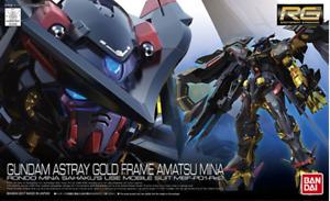 BANDAI RG 1/144 Astray Gold Frame Amatsu Mina Gundam Plastic Model AU STOCK #24