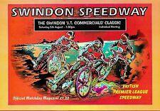 Swindon Robins Speedway programma > il Swindon JT PUBBLICITA' ' S CLASSIC AGOSTO 1995