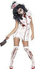 Smiffys Déguisement Femme Infirmière Zombie Robe masq